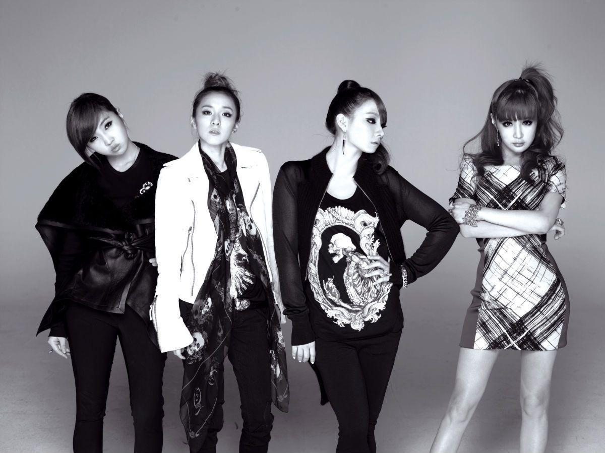 Picture 2016, 2NE1 Black And White