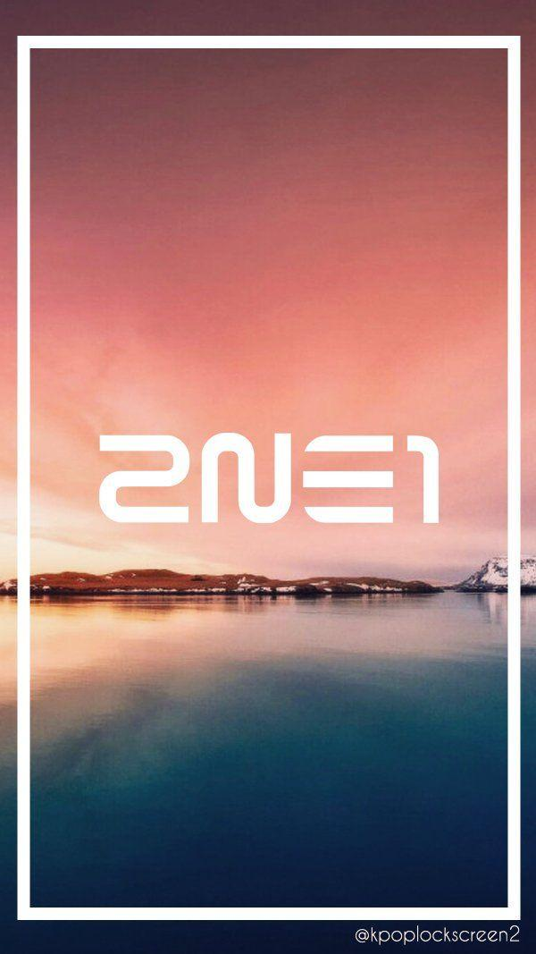 "YG Lockscreen World on Twitter: ""080416 2NE1 LOGO Phone Lockscreen"