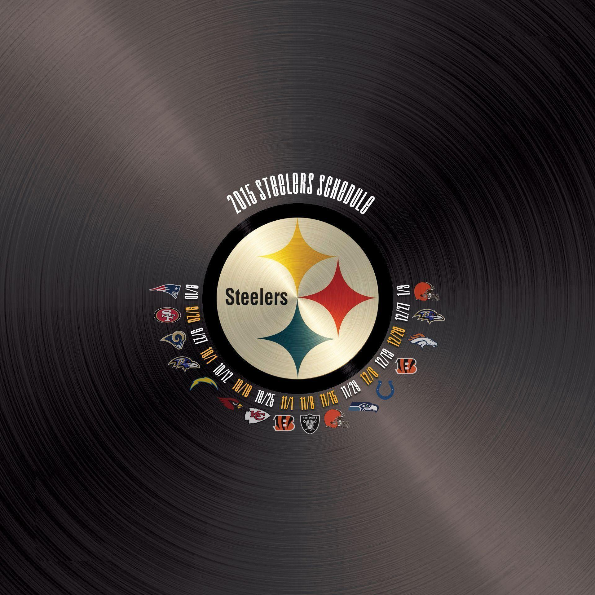 Hey Steelers fans, I made some wallpapers for every NFL team. Here