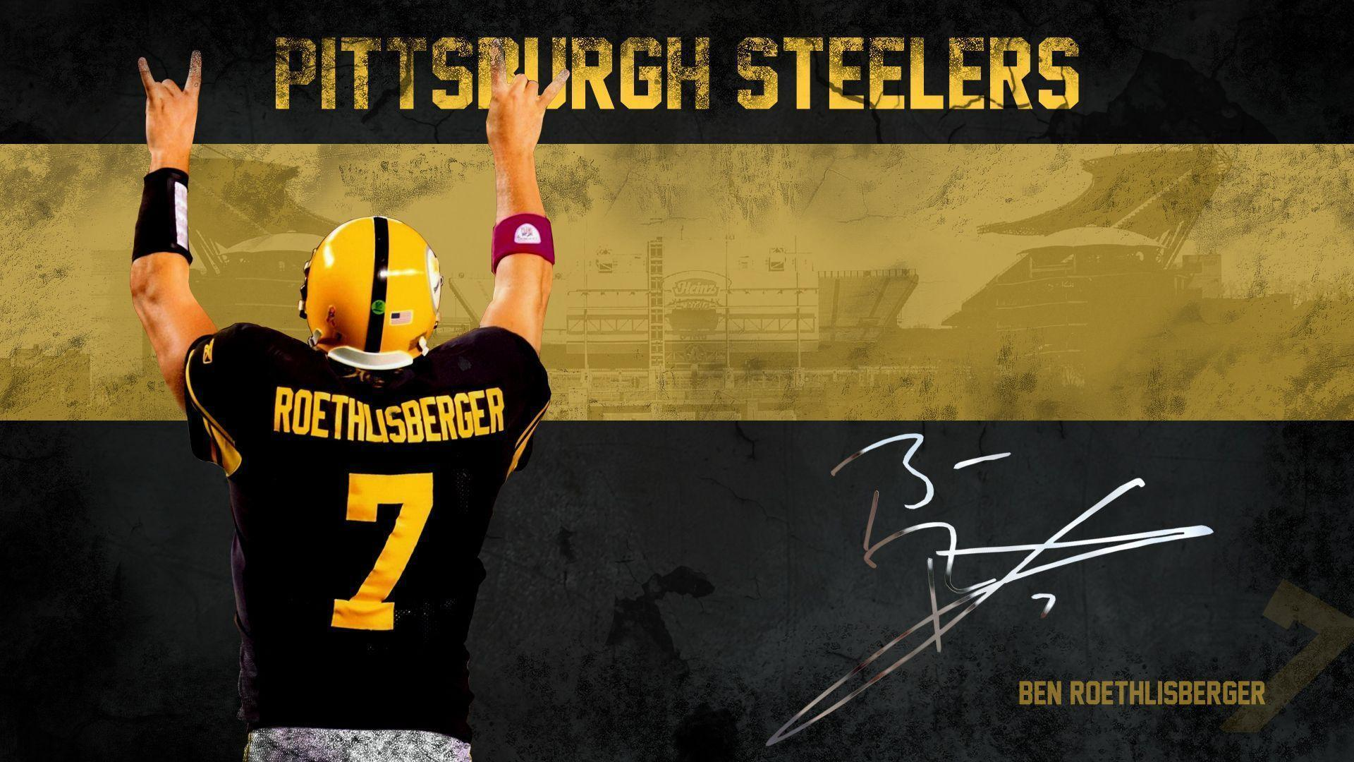 Pittsburgh Steelers image Ben Roethlisberger Wallpapers HD