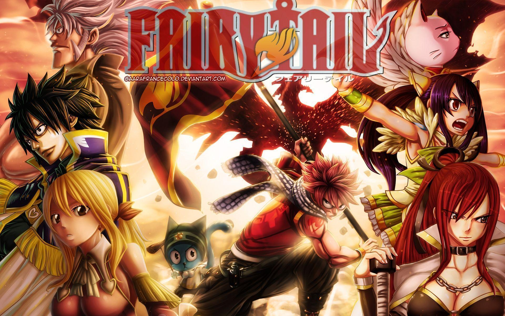 Fairy Tail Guild Wallpaper Hd Fairy Tail 2016 Wallpa...