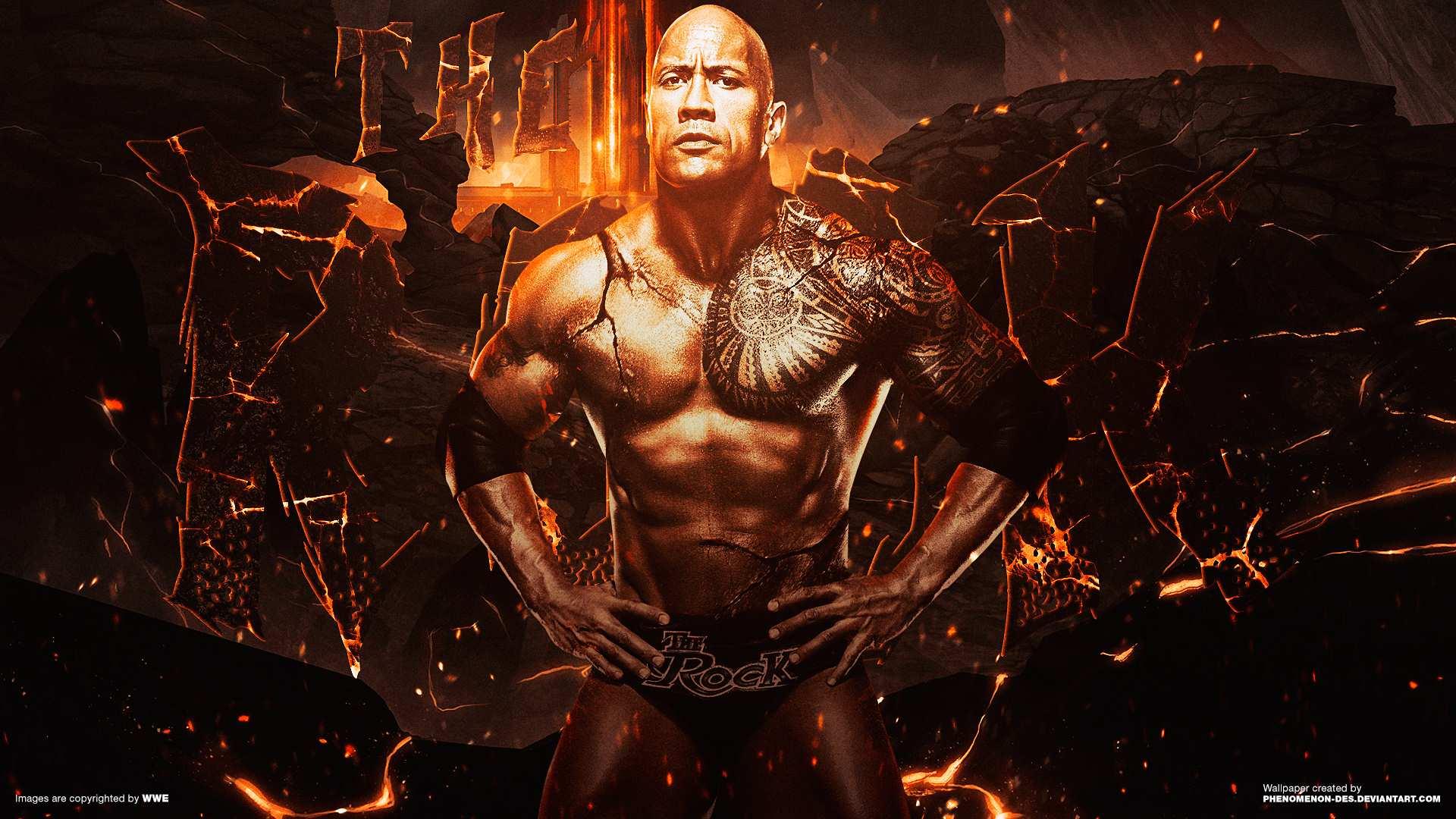 Dwayne Johnson Wallpaper For Computer: WWE 2016 Wallpapers
