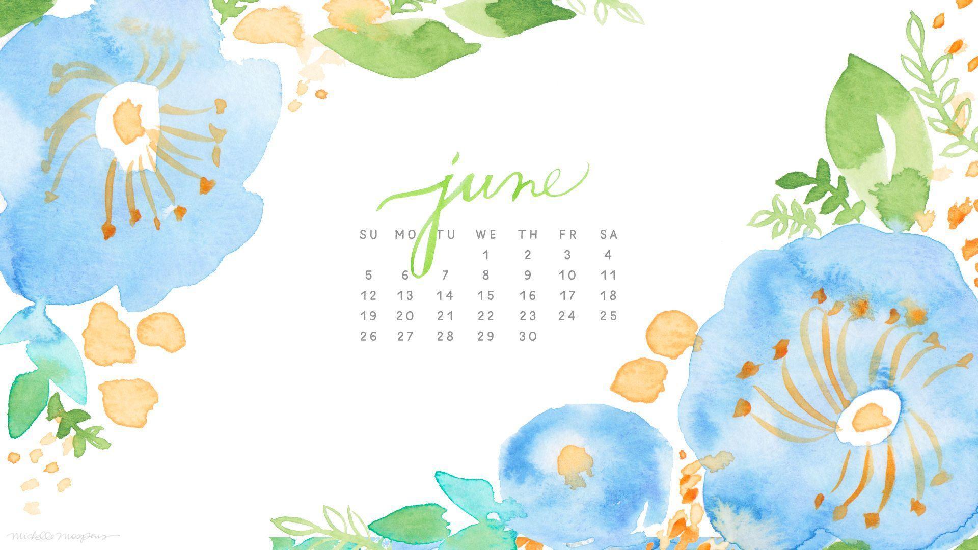 desktop wallpapers calendar june 2016 wallpaper cave