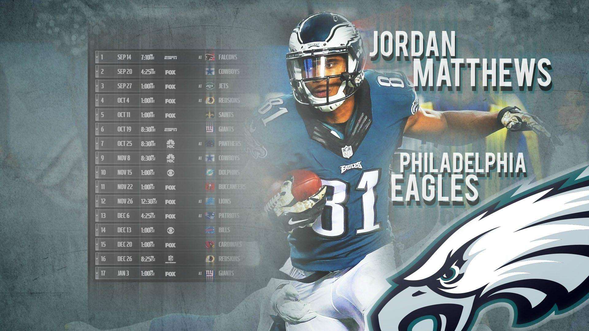 Matthews schedule wallpapers 2.0 : eagles
