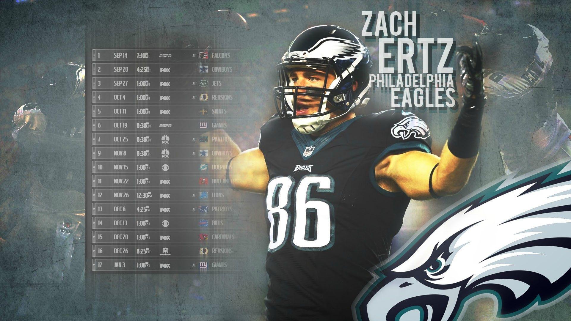 Philadelphia Eagles 2016 Schedule Released