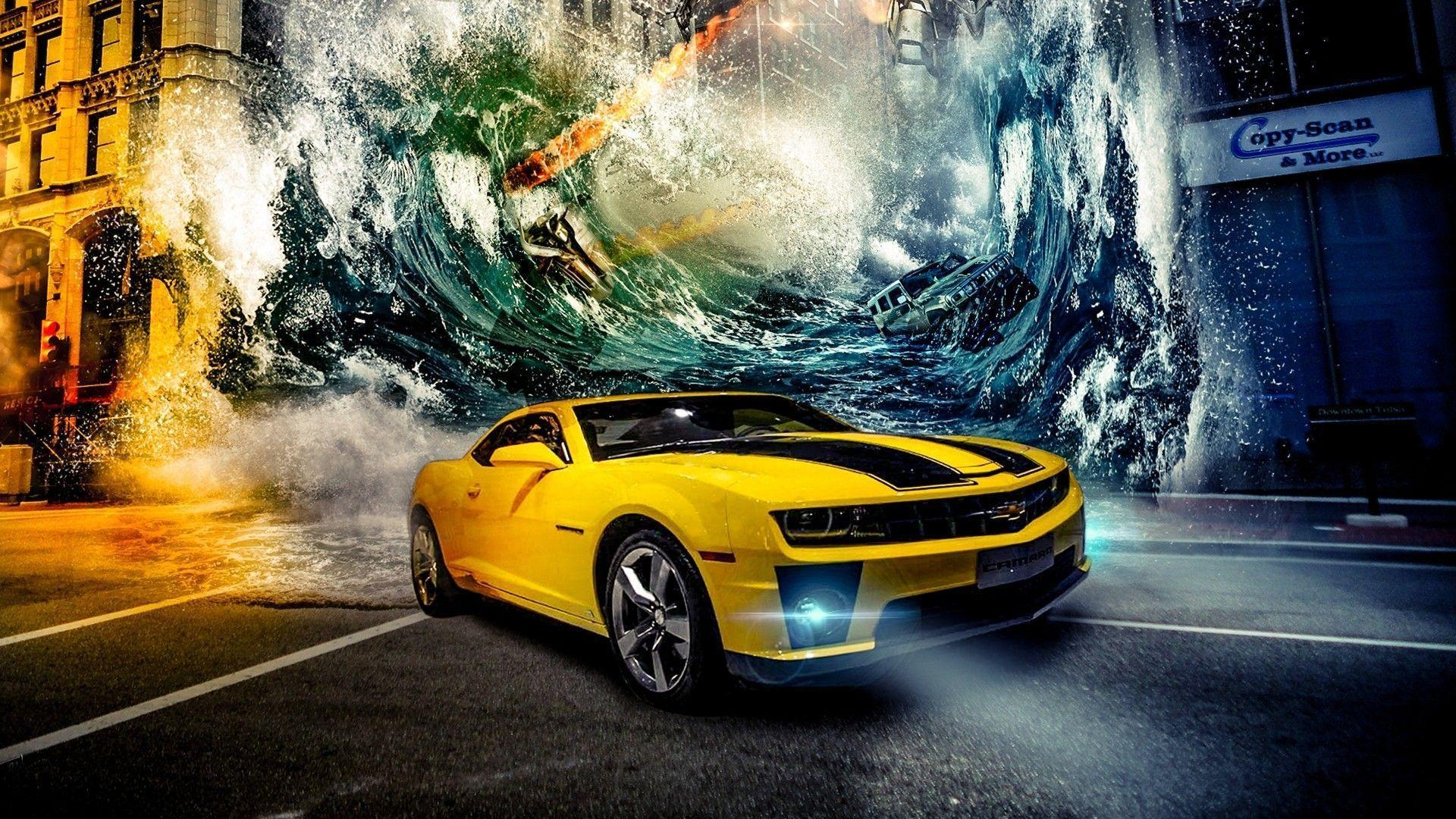 Car Chevrolet Camaro Bumblebee Wallpapers HD Desktop And Mobile