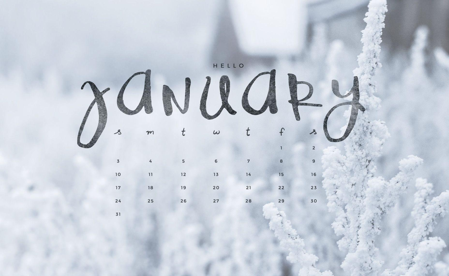 Live Calendar Wallpaper : Desktop wallpapers calendar january wallpaper cave