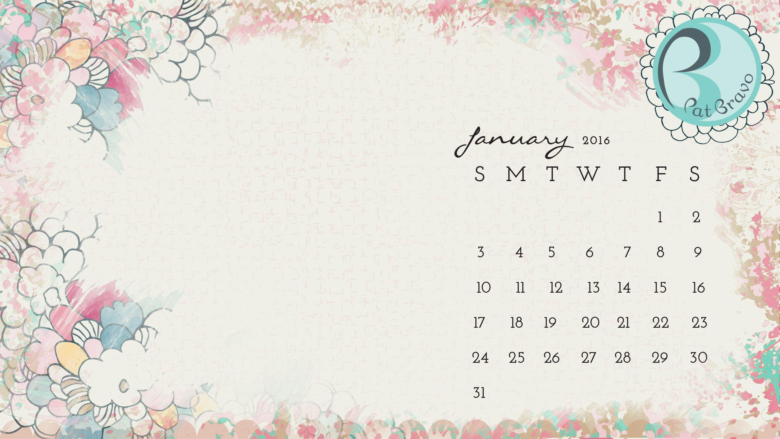 Calendar Background 2016 : Desktop wallpapers calendar january wallpaper cave