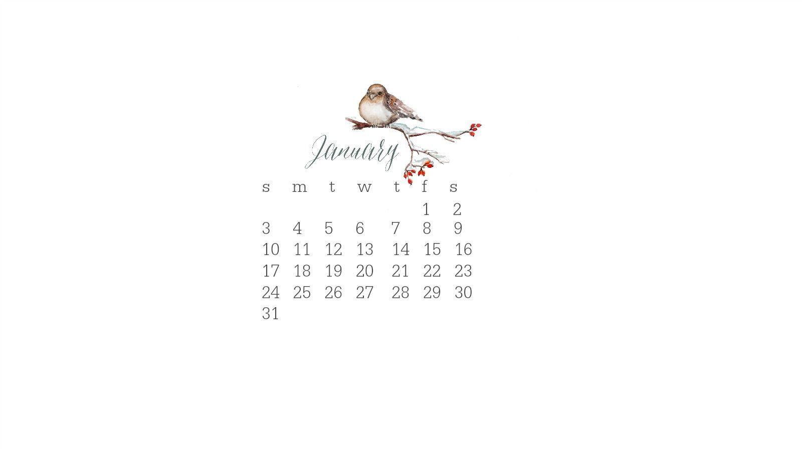 google calendar january 2016 wallpaper - photo #3