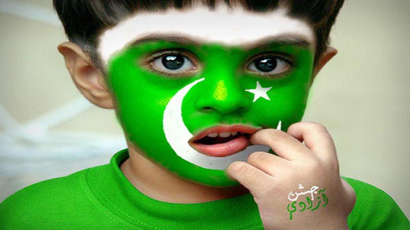 Face Painting Online Pakistan Flag