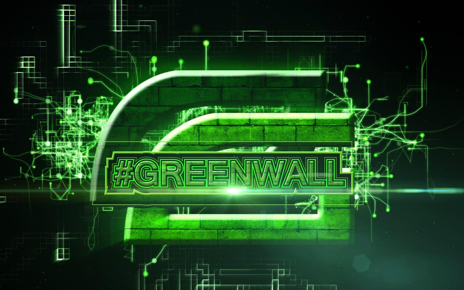 Game Wallpaper: Optic Gaming Green Wall Phone Wallpapers For HD