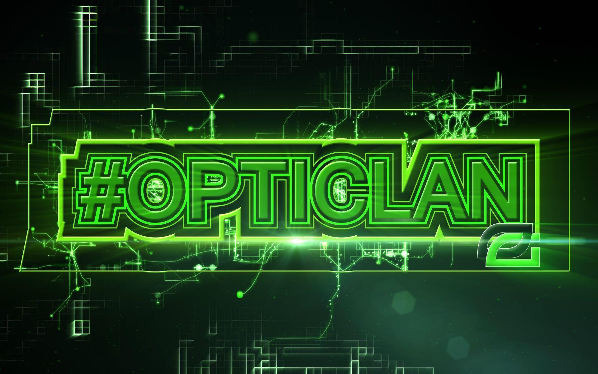 Optic Gaming Green Wall High Quality Resolution Wallpapers : Game