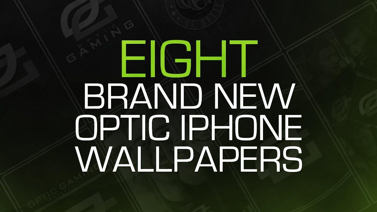 8 OpTic iPhone Wallpapers!