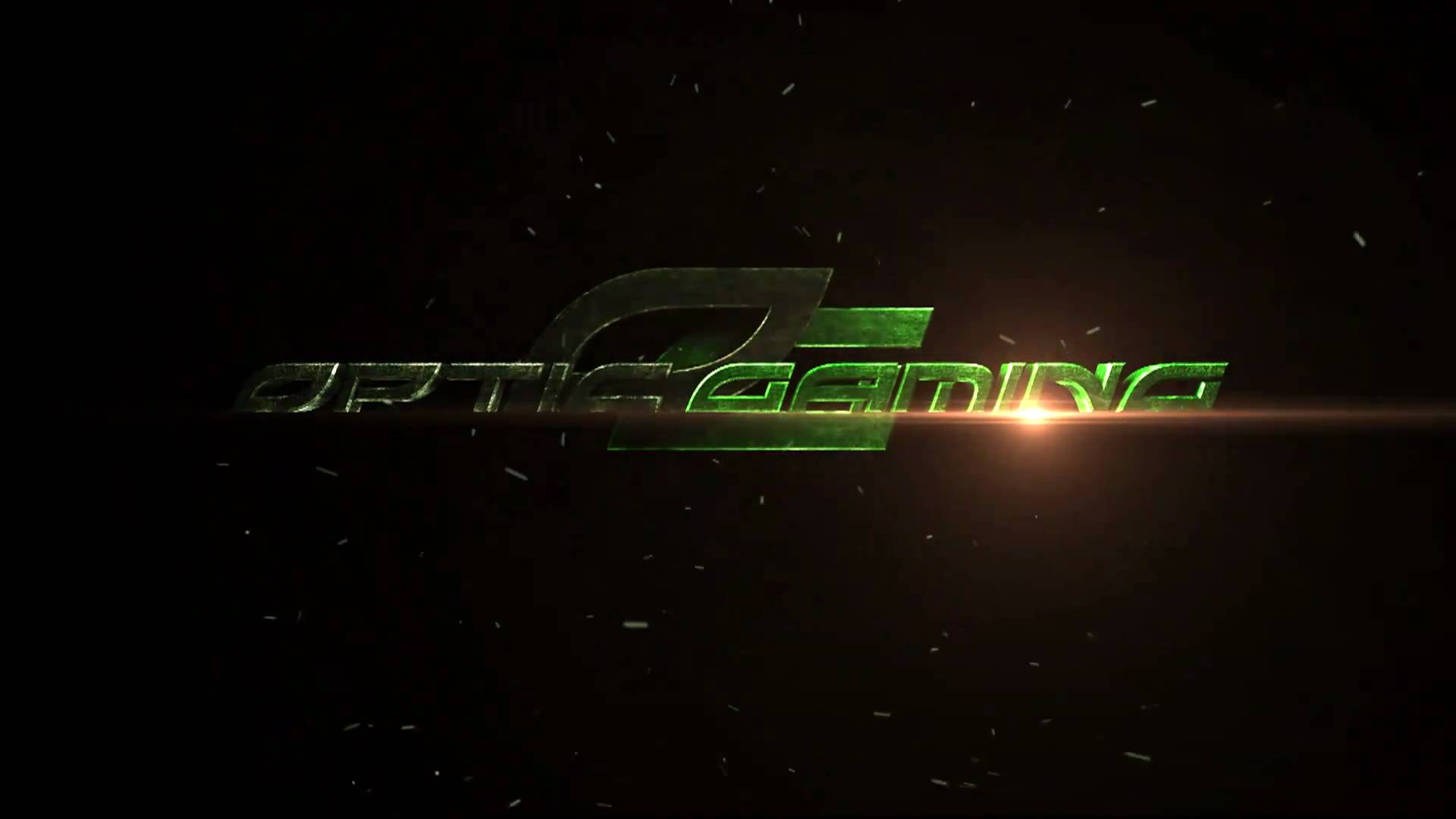 Game Wallpaper: Optic Gaming Green Wall Desktop Wallpapers For HD
