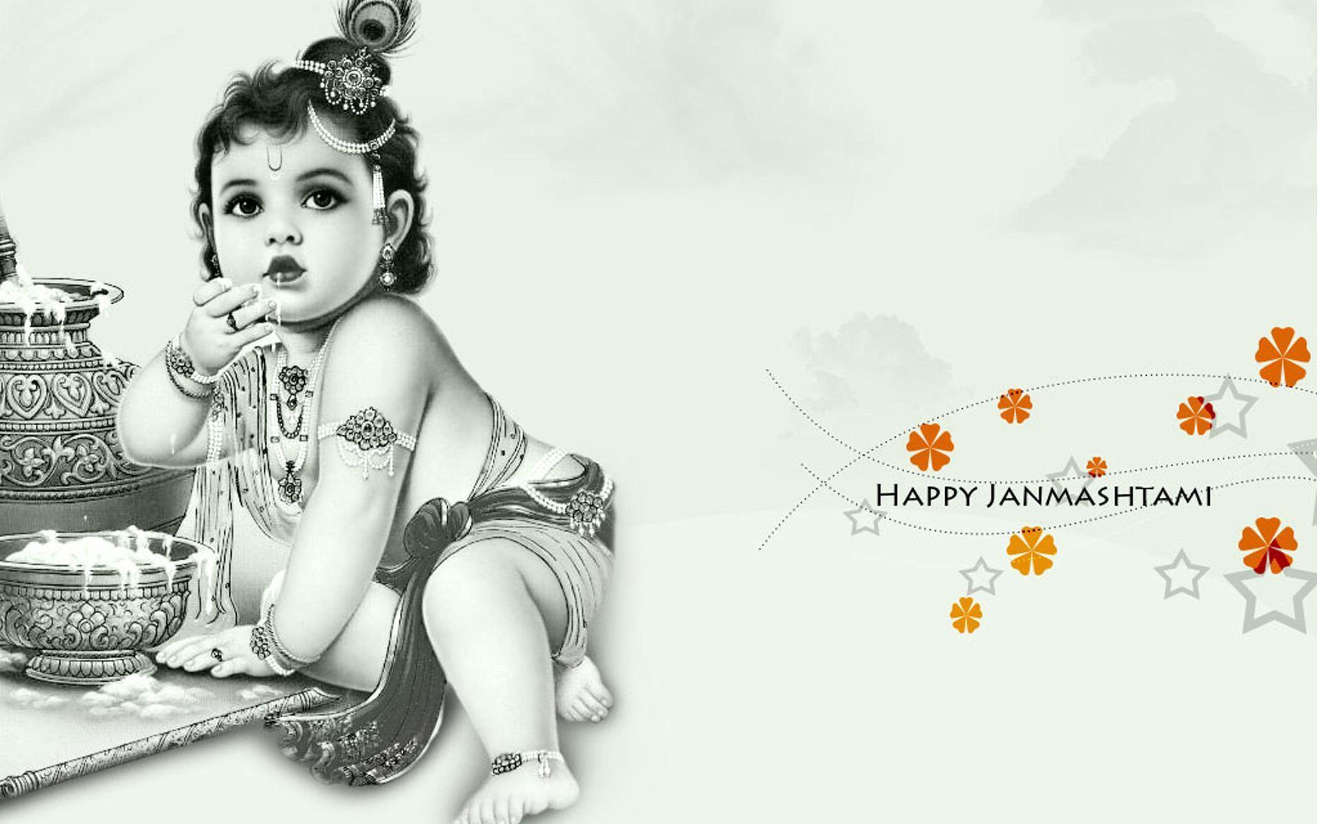 Happy Krishna Janmashtami 2016 Wallpapers HD – Daily Backgrounds in HD