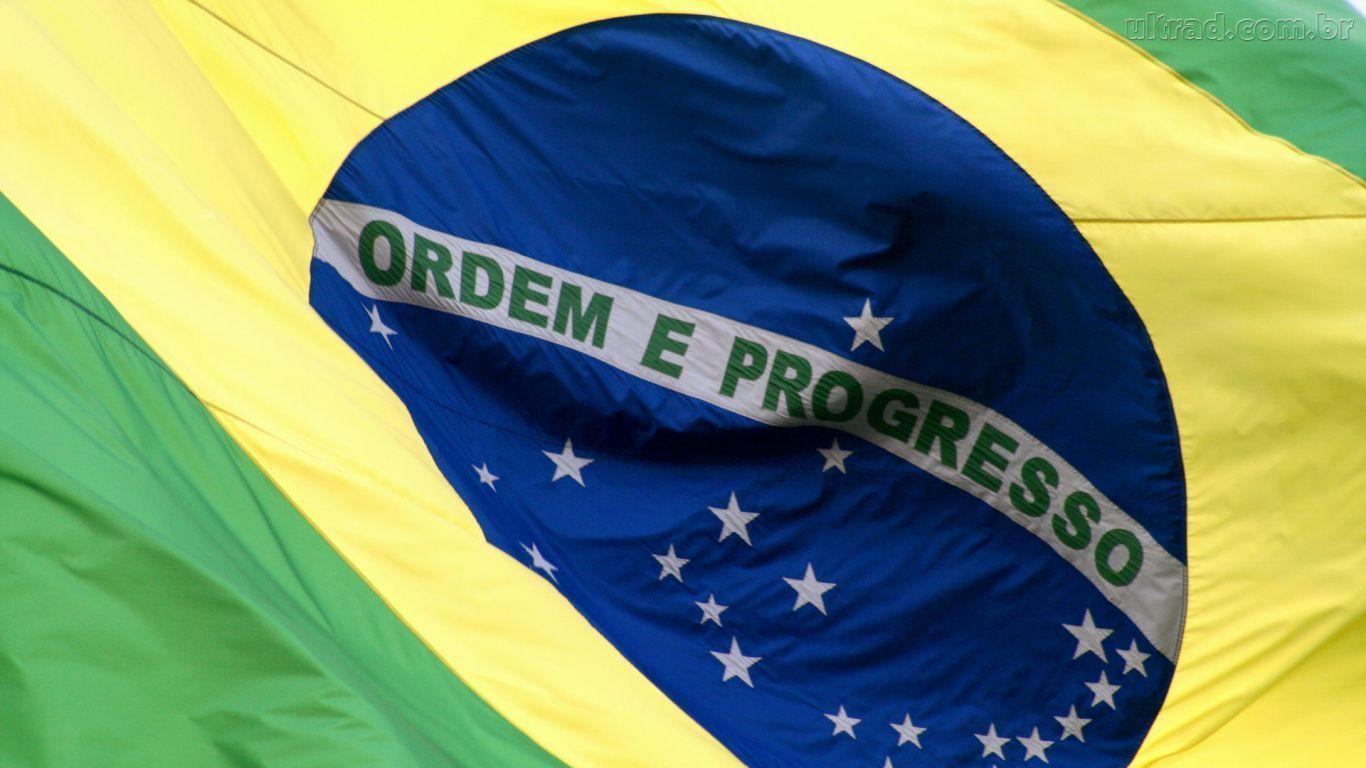 Brazil Flag Vertical