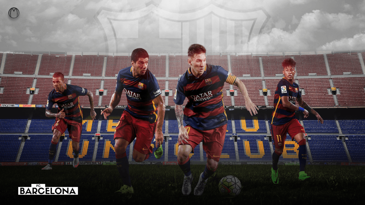2016 FC Barcelona Team HD Images | AMBWallpapers