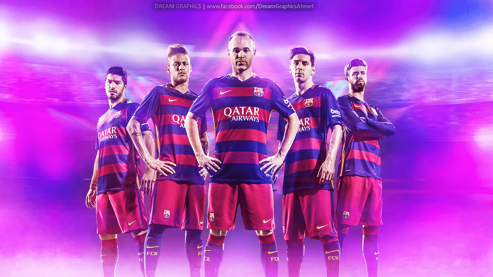 Barcelona 2015 2016 Wallpaper by dreamgraphicss on DeviantArt