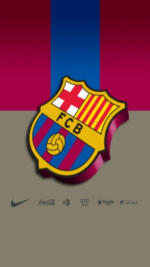 Barcelona Football Club Logo iPhone Wallpaper Download iPhone ...