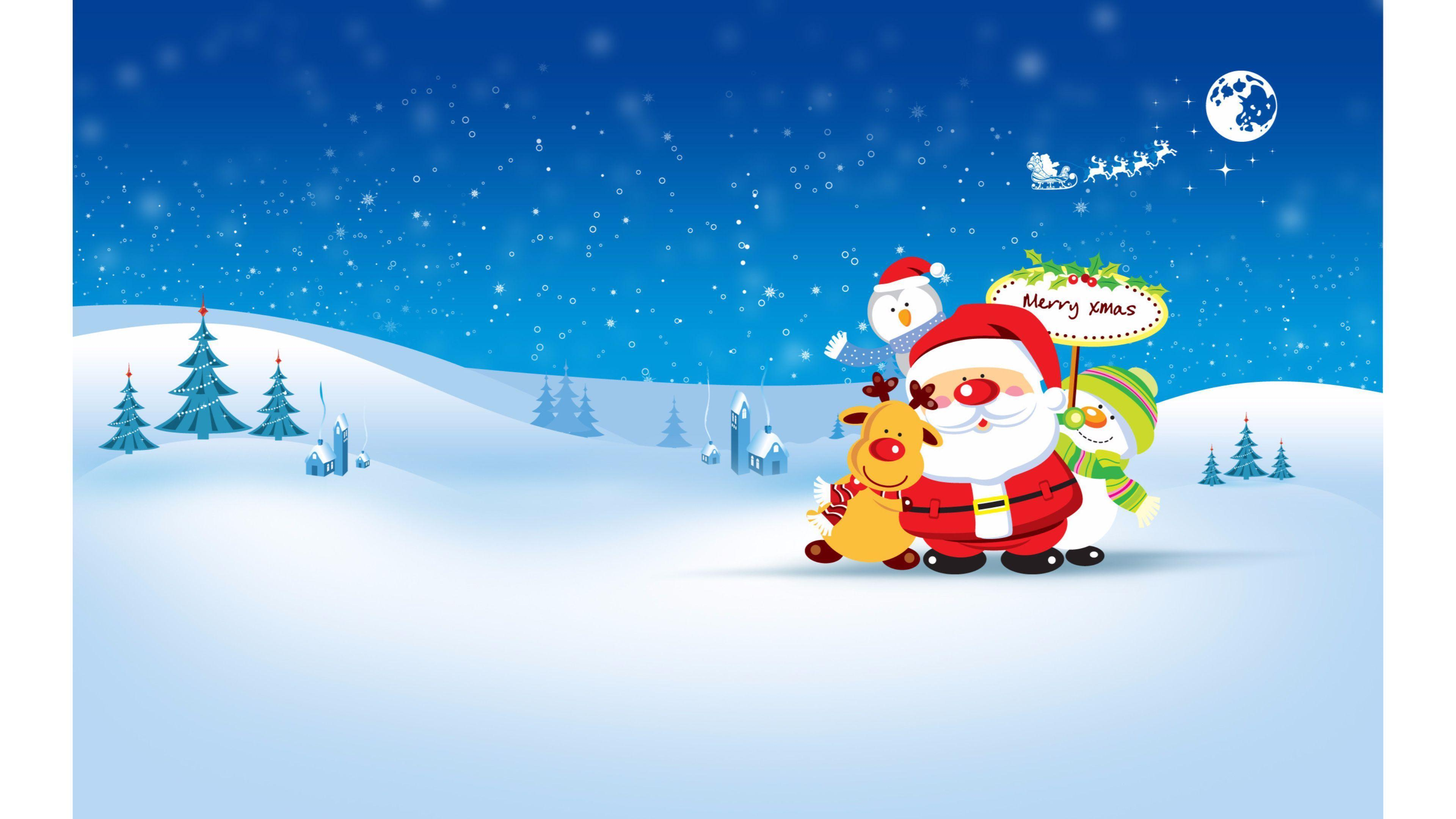 adult christmas cartoon wallpaper - photo #37
