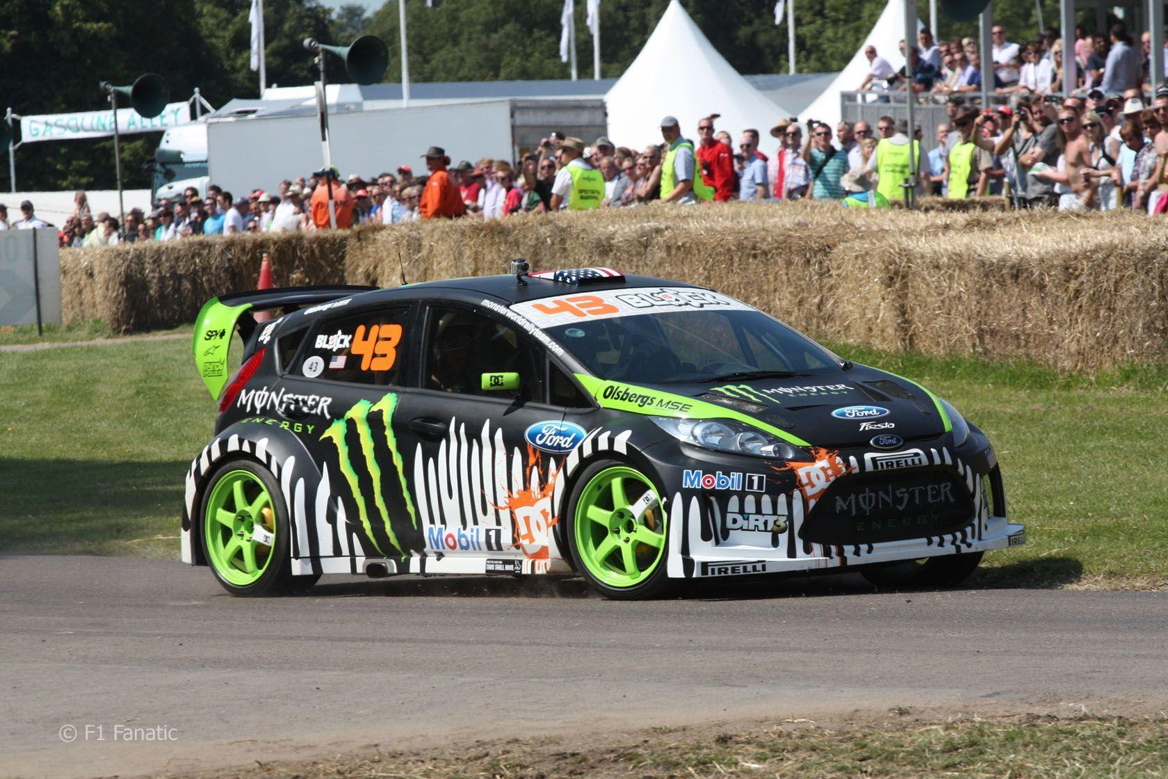 ken block fiesta hd wallpaper