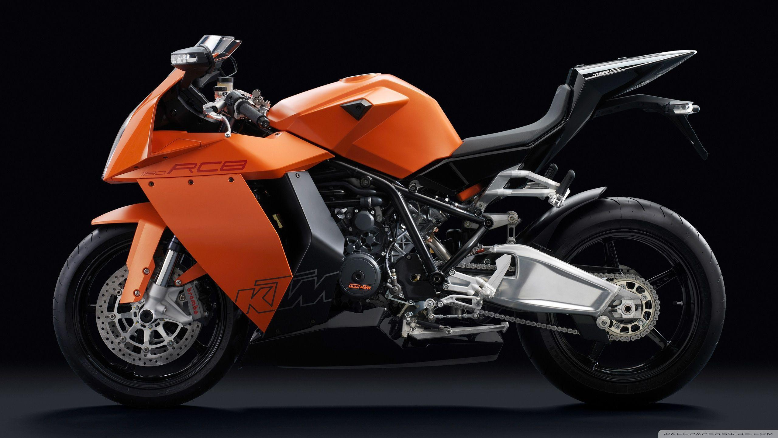 KTM 1190 RC8 Motorcycle HD desktop wallpapers : High Definition