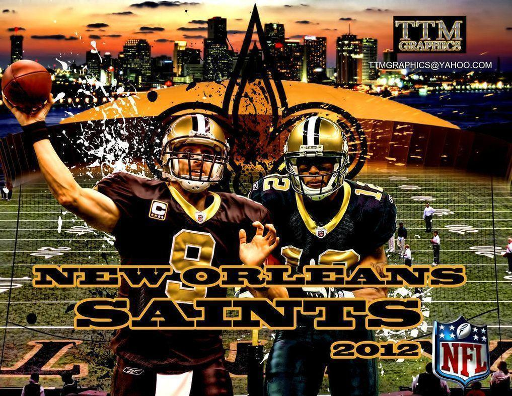 New Orleans Saints Wallpapers by tmarried