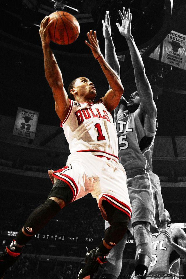 derrick rose wallpaper iphone - photo #3
