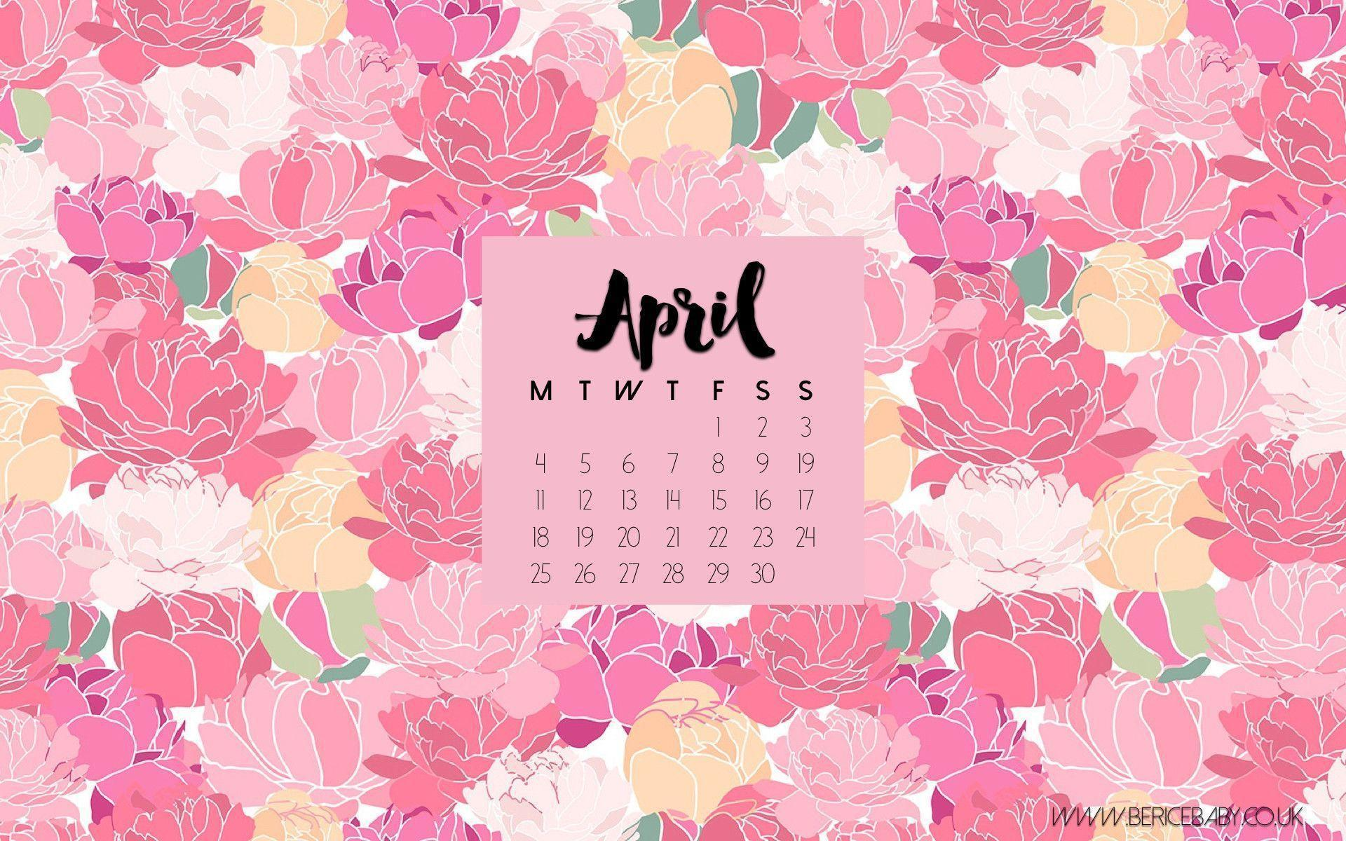 Calendar Wallpaper Pc : Desktop wallpapers calendar april wallpaper cave