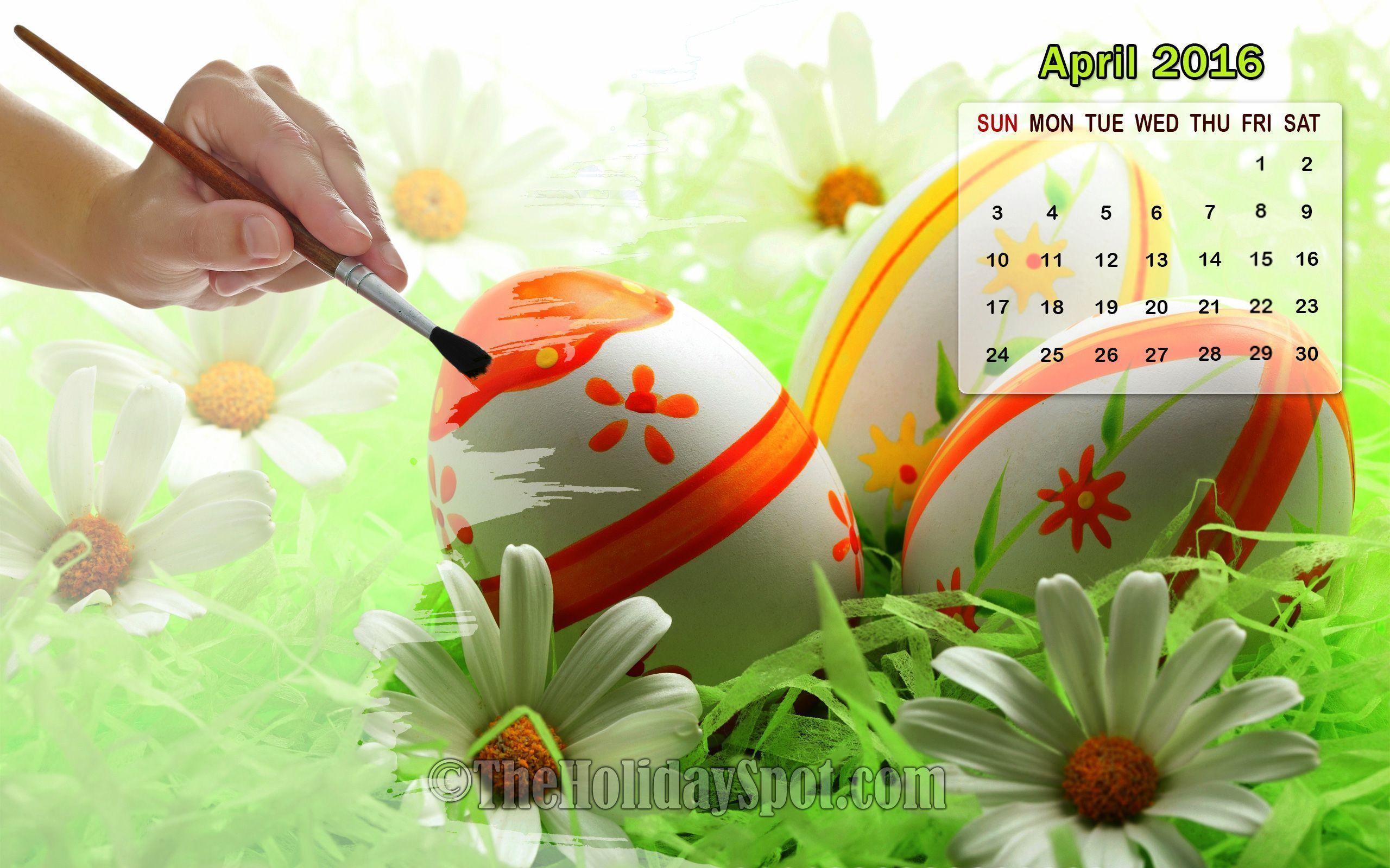 April Calendar Wallpaper : Desktop wallpapers calendar april wallpaper cave