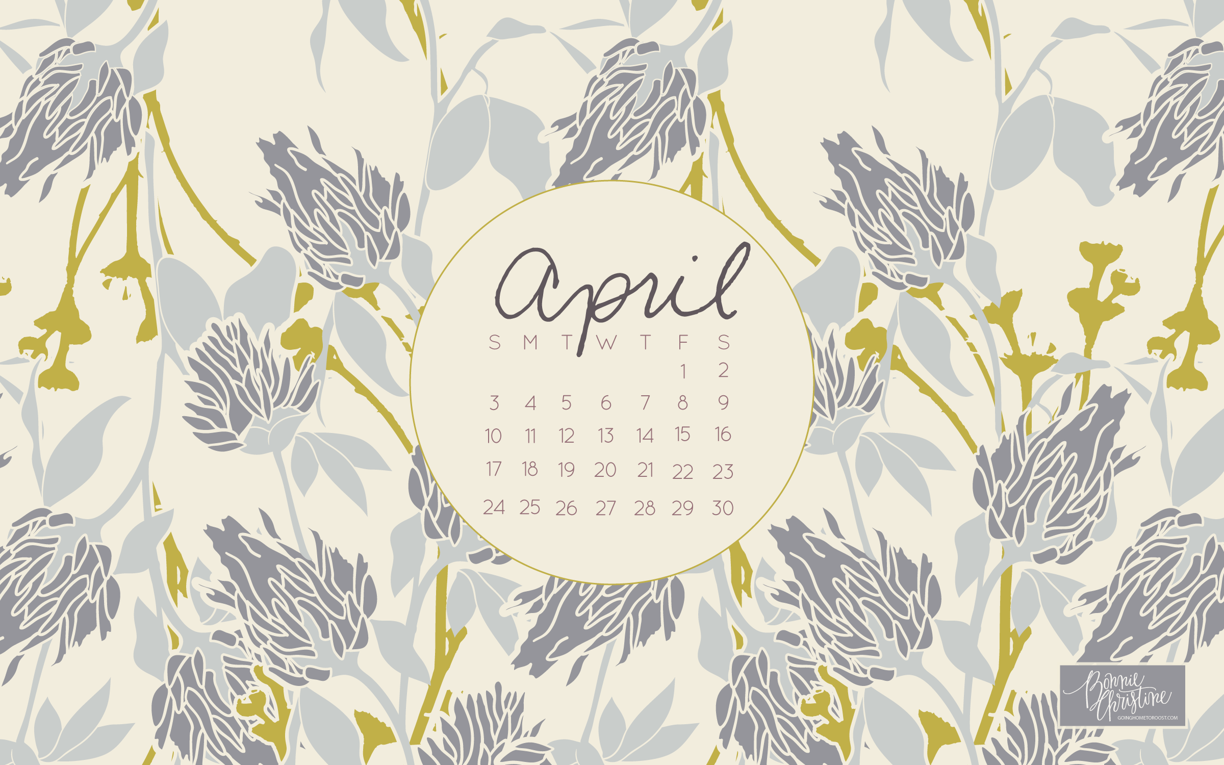 Calendar Wallpaper For Pc Desktop : Desktop wallpapers calendar april wallpaper cave