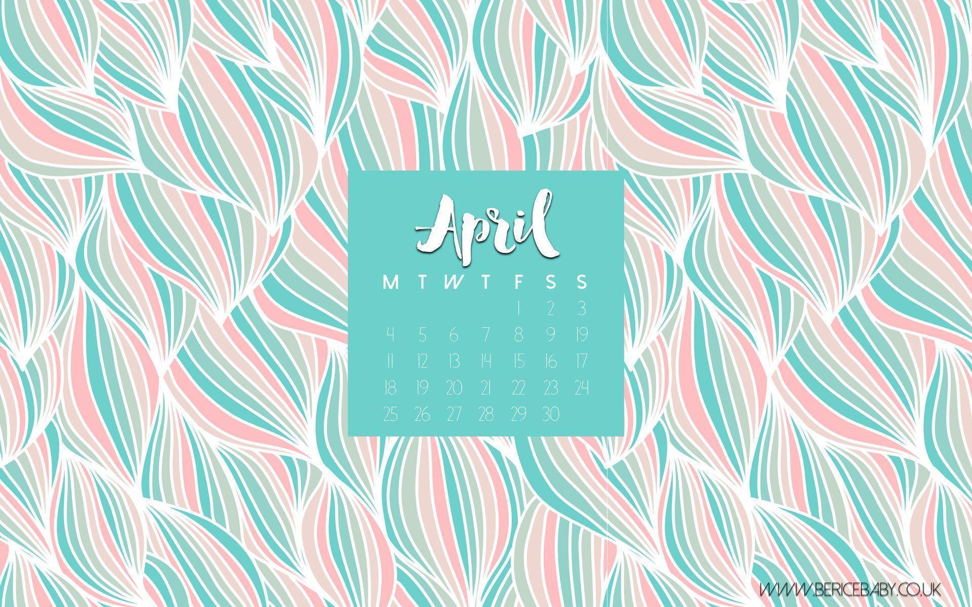 Desktop Calendar April 2016 desktop wallpapers calendar april 2016 - wallpaper cave