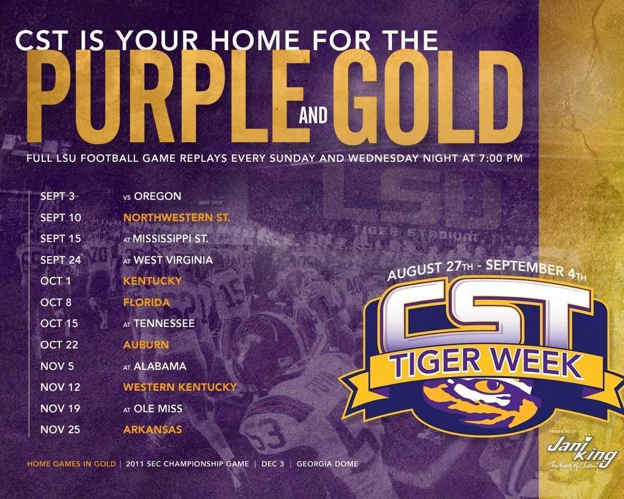 Lsu Football Schedule 2016 Wallpapers