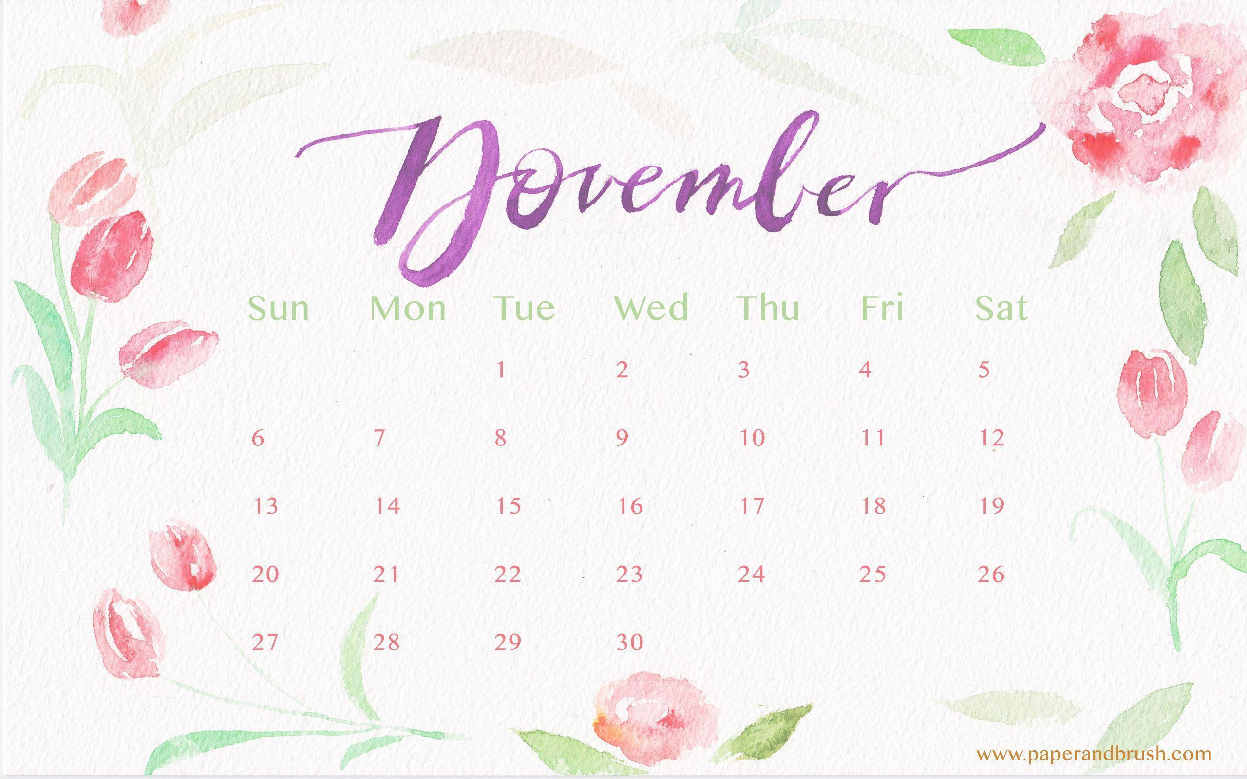 desktop wallpapers calendar november 2016 wallpaper cave