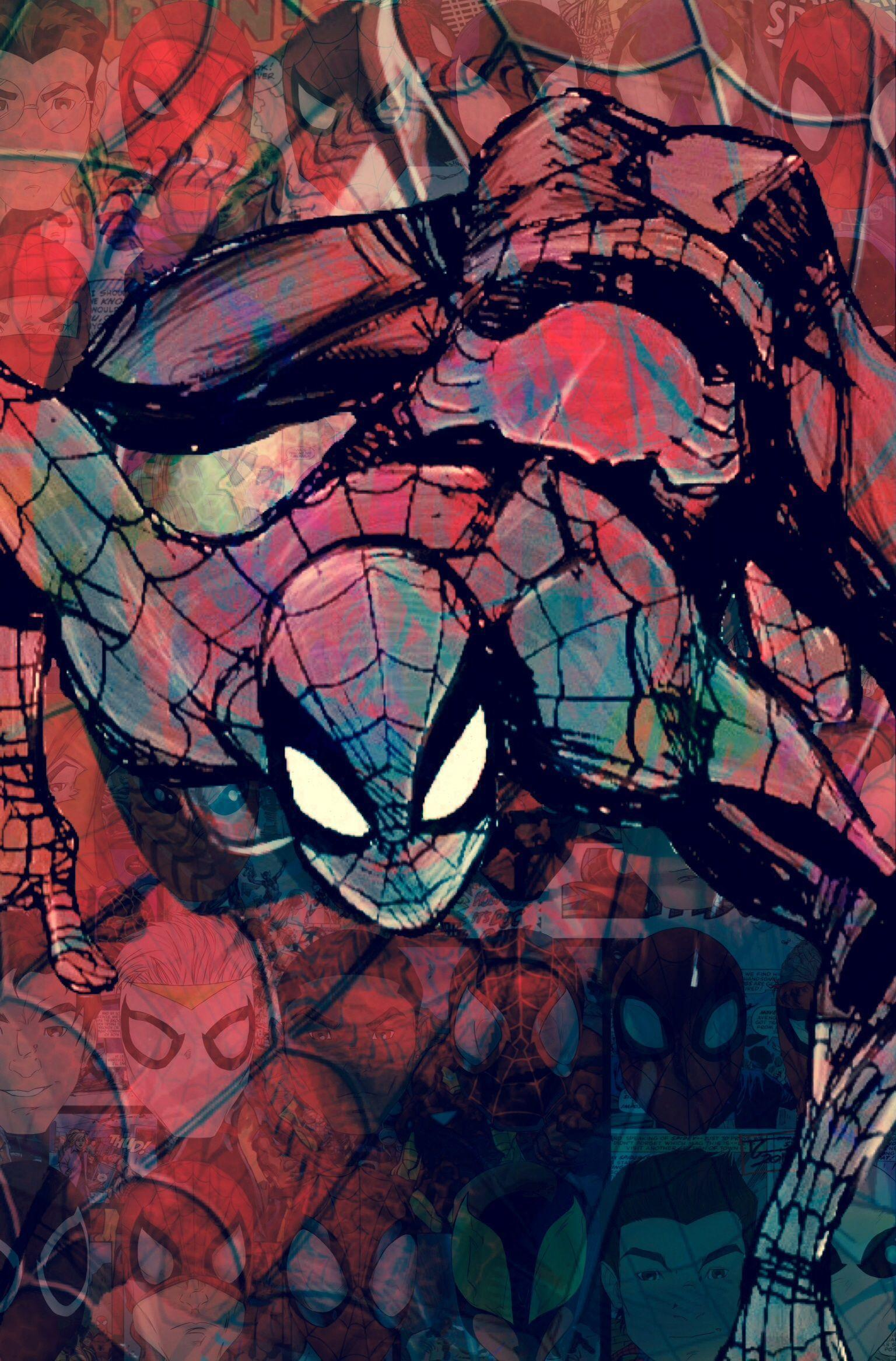 Spiderman IOS Wallpapers by Joey