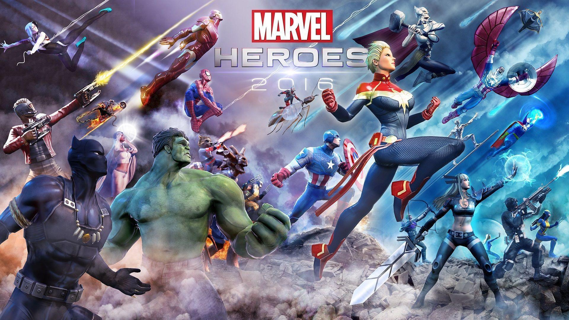 Could someone Photoshop the Marvel Heroes 2016 Wallpaper?