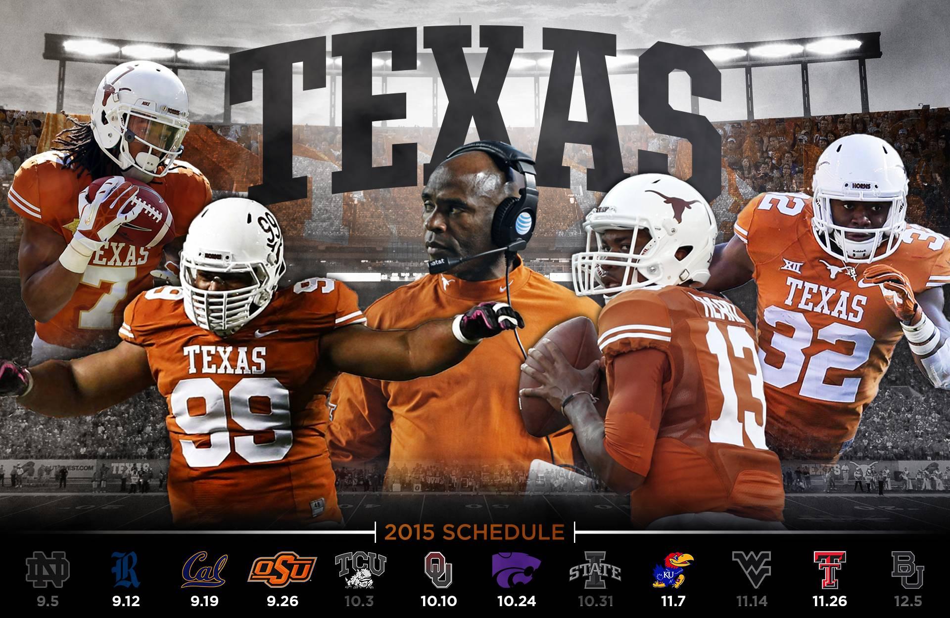 2016 Texas Longhorns Football Wallpapers Wallpaper Cave