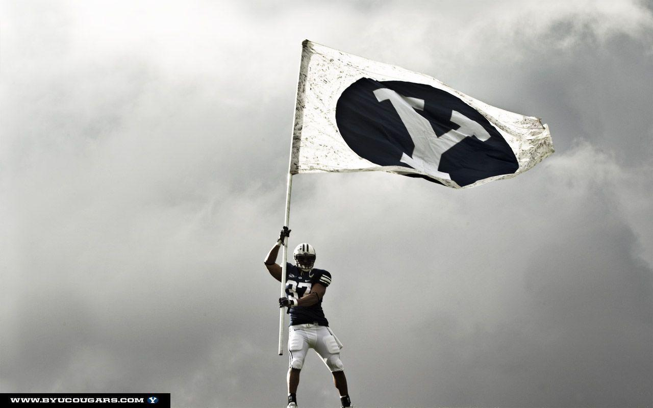byu cougar wallpaper