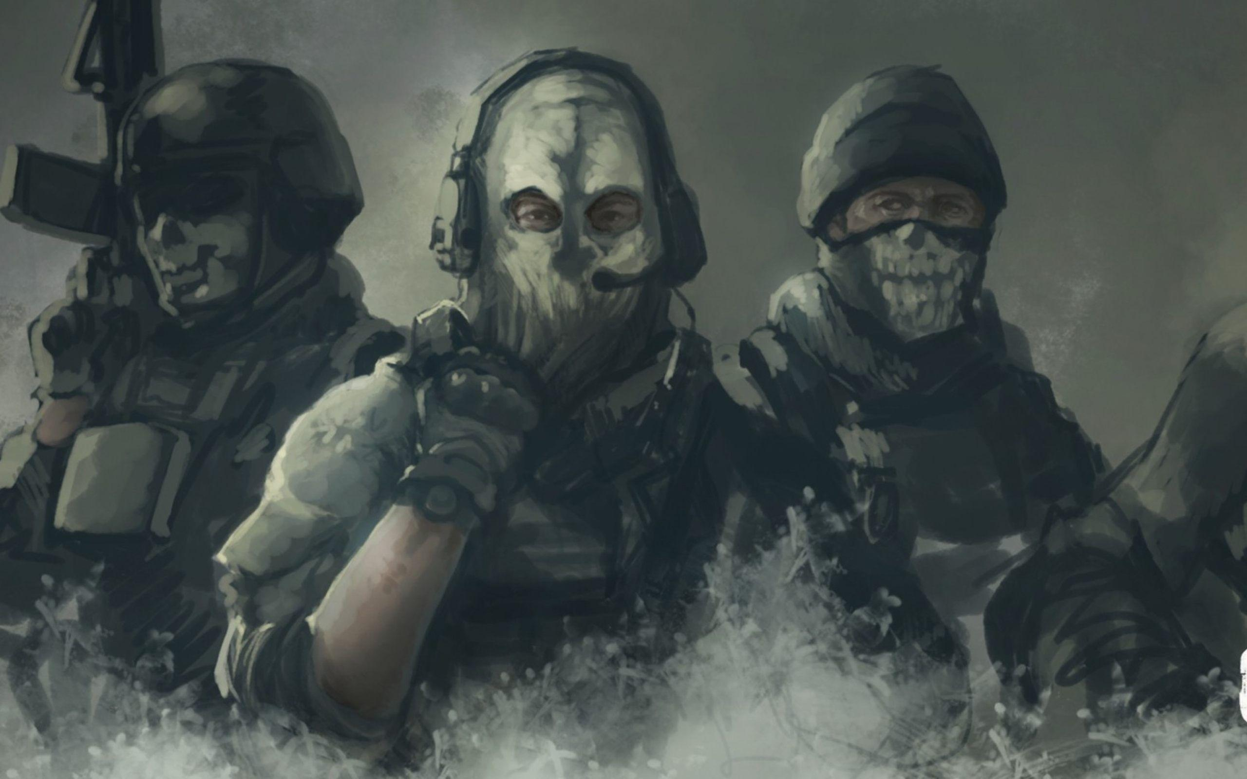 Call Of Duty Ghosts Fan Art High Definition Wallpapers