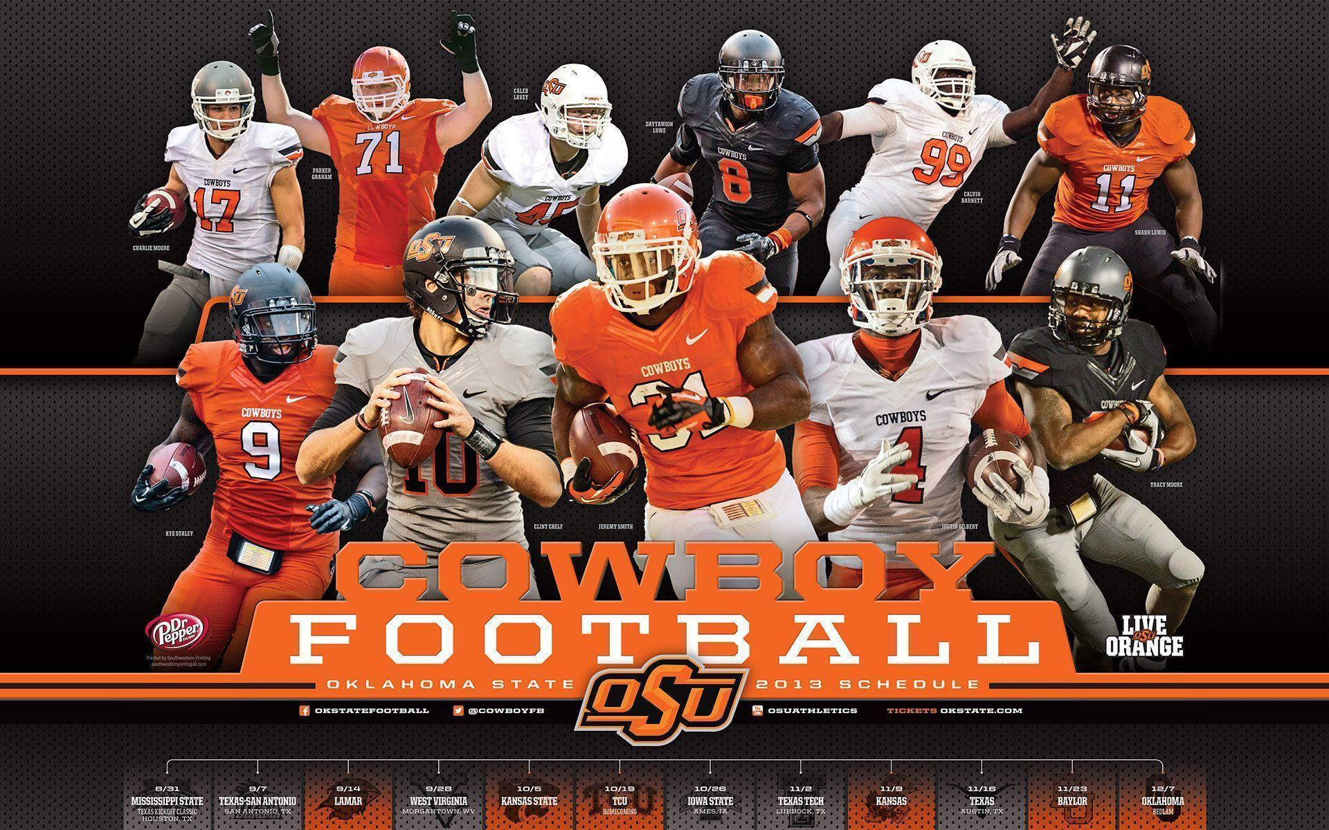 Oklahoma State University 2016 Football Schedule ...