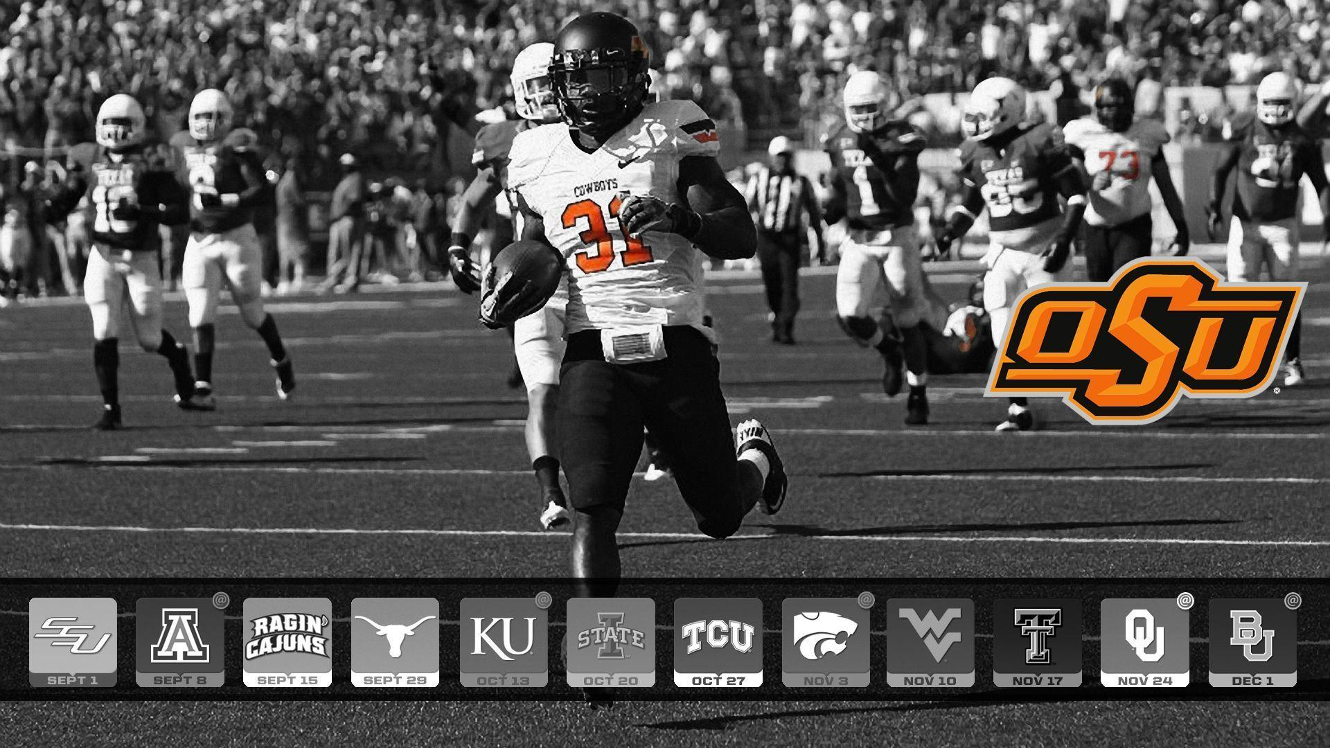 oklahoma state university 2016 football schedule