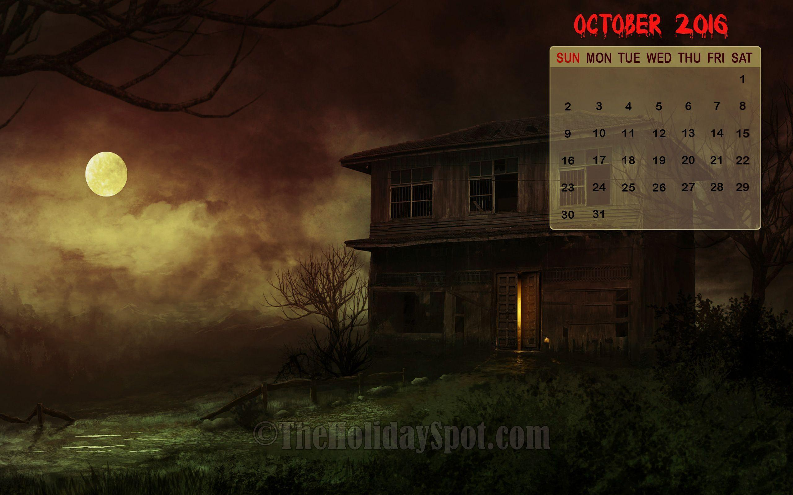 Calendar Wallpaper Program : Desktop wallpapers calendar october wallpaper cave