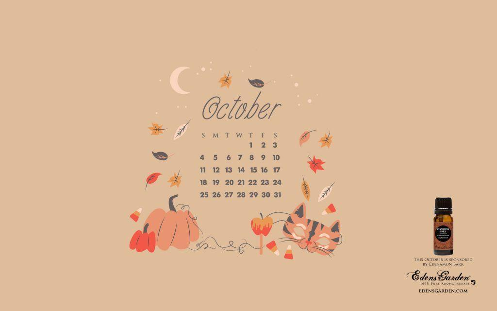 October Calendar Wallpaper : Desktop wallpapers calendar october wallpaper cave