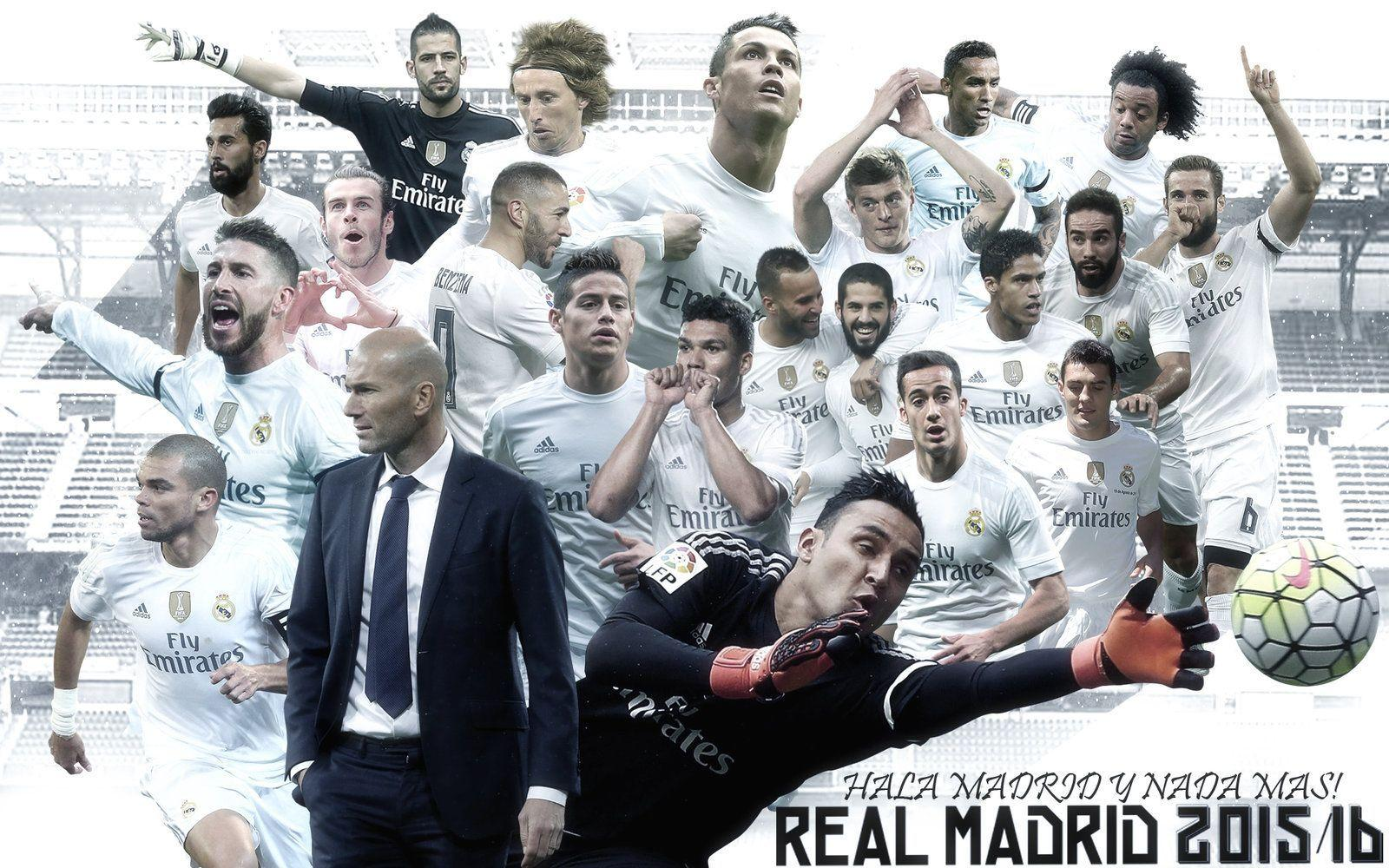 Wallpapers real madrid 2016 deviantart wallpaper cave - Real madrid pictures wallpapers 2017 ...