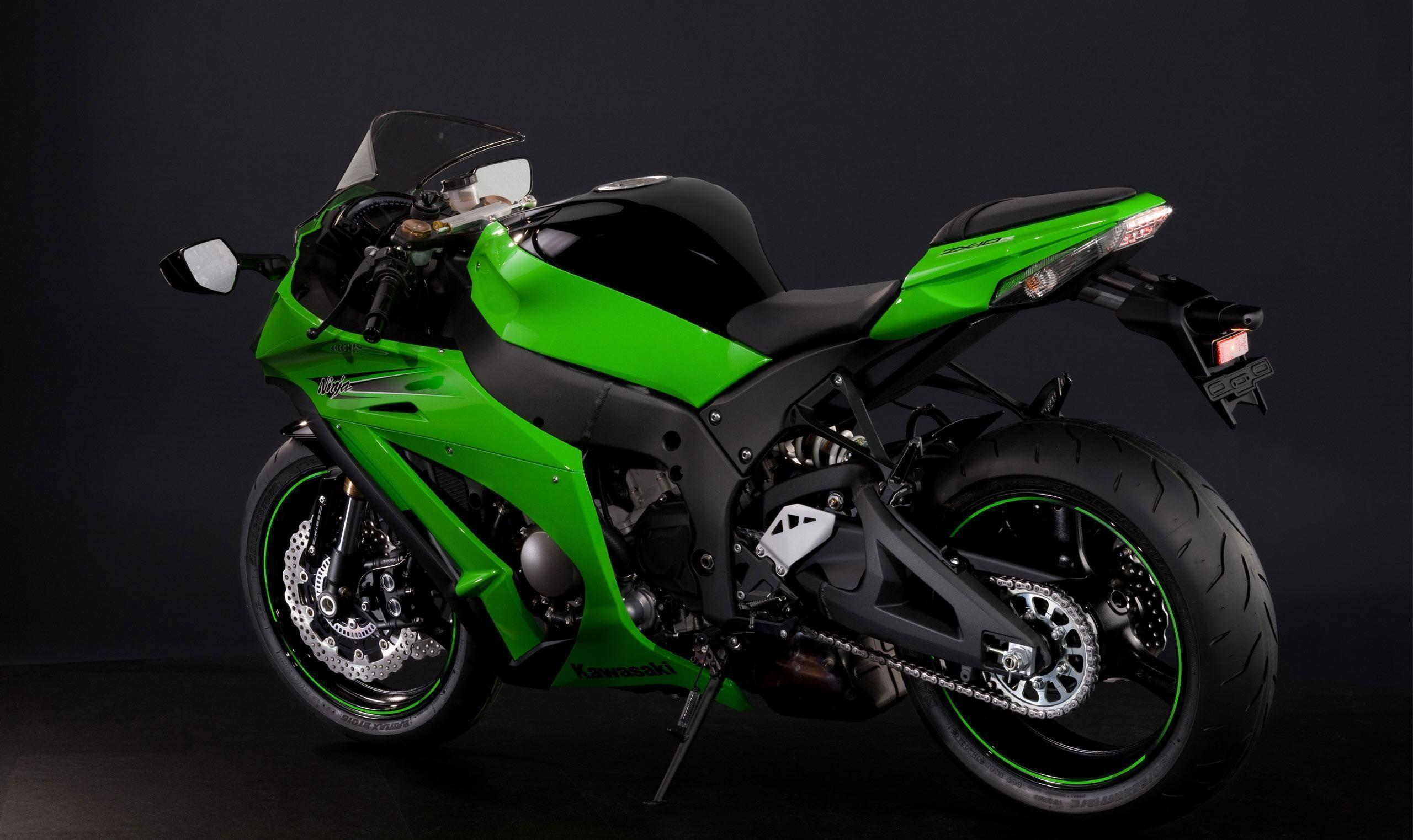 Kawasaki Ninja Zx10r Wallpapers HD Desktop Wide