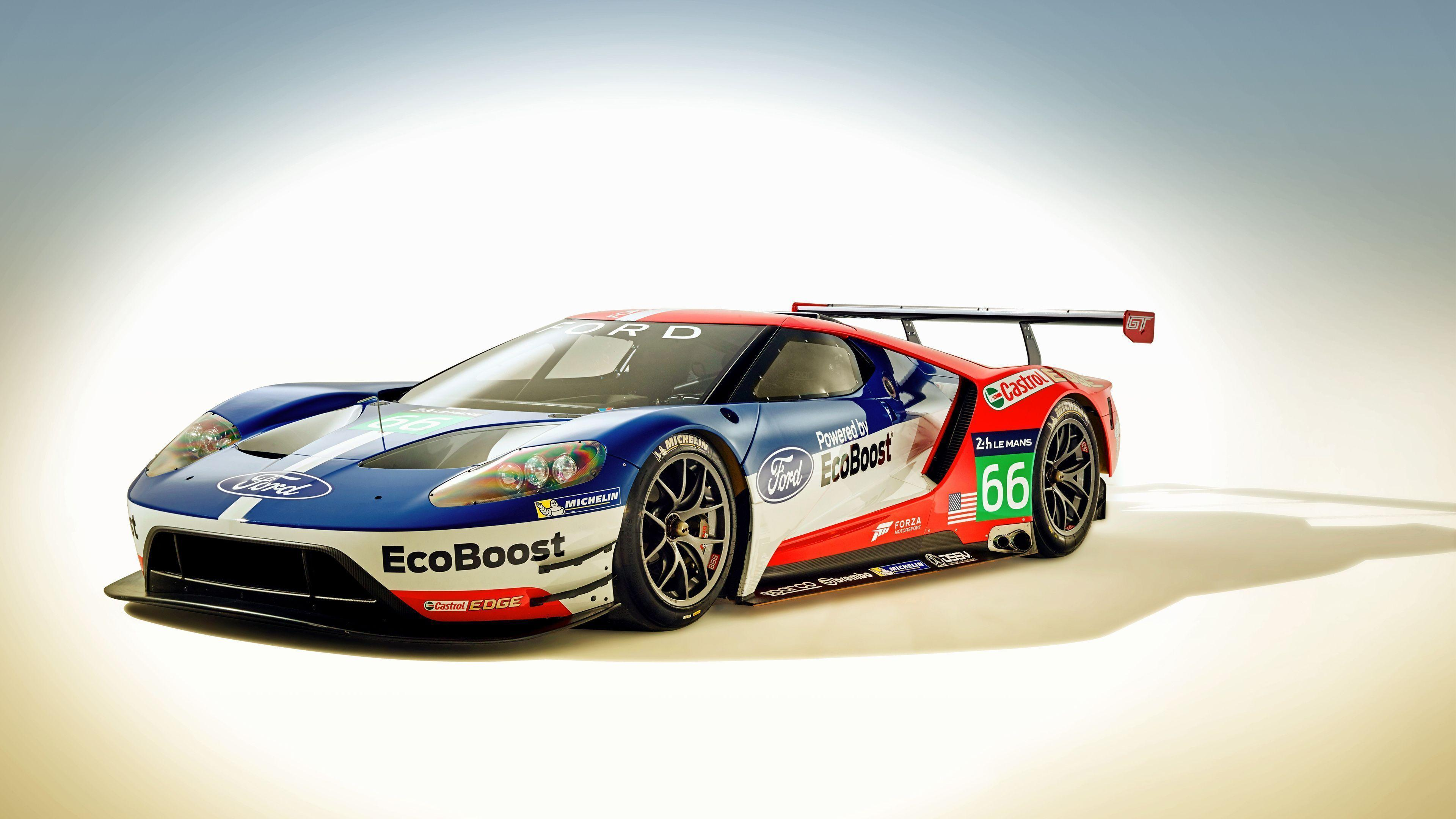 Ford GT Race Car 2016 Wallpapers