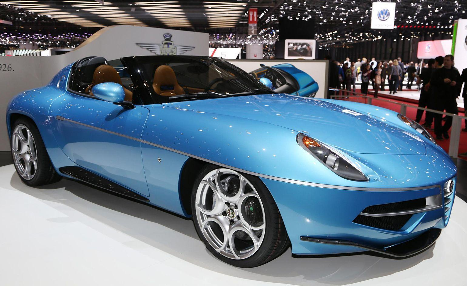 The best new cars and concepts from Geneva Motor Show 2016