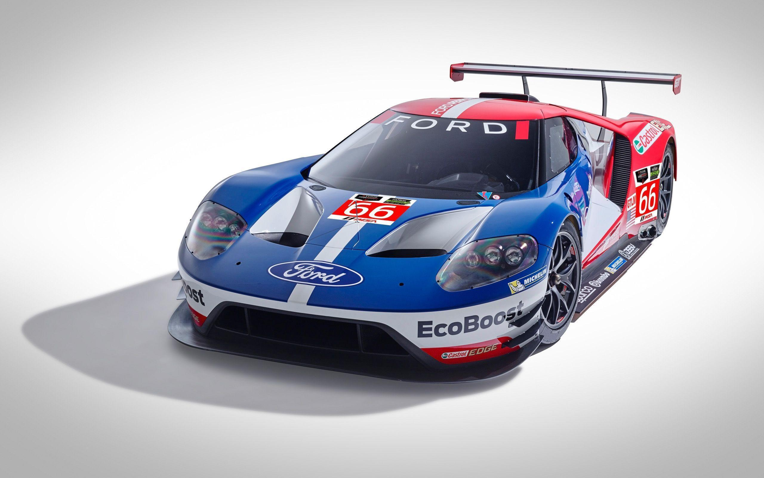 2016 Ford GT Race Car Wallpapers