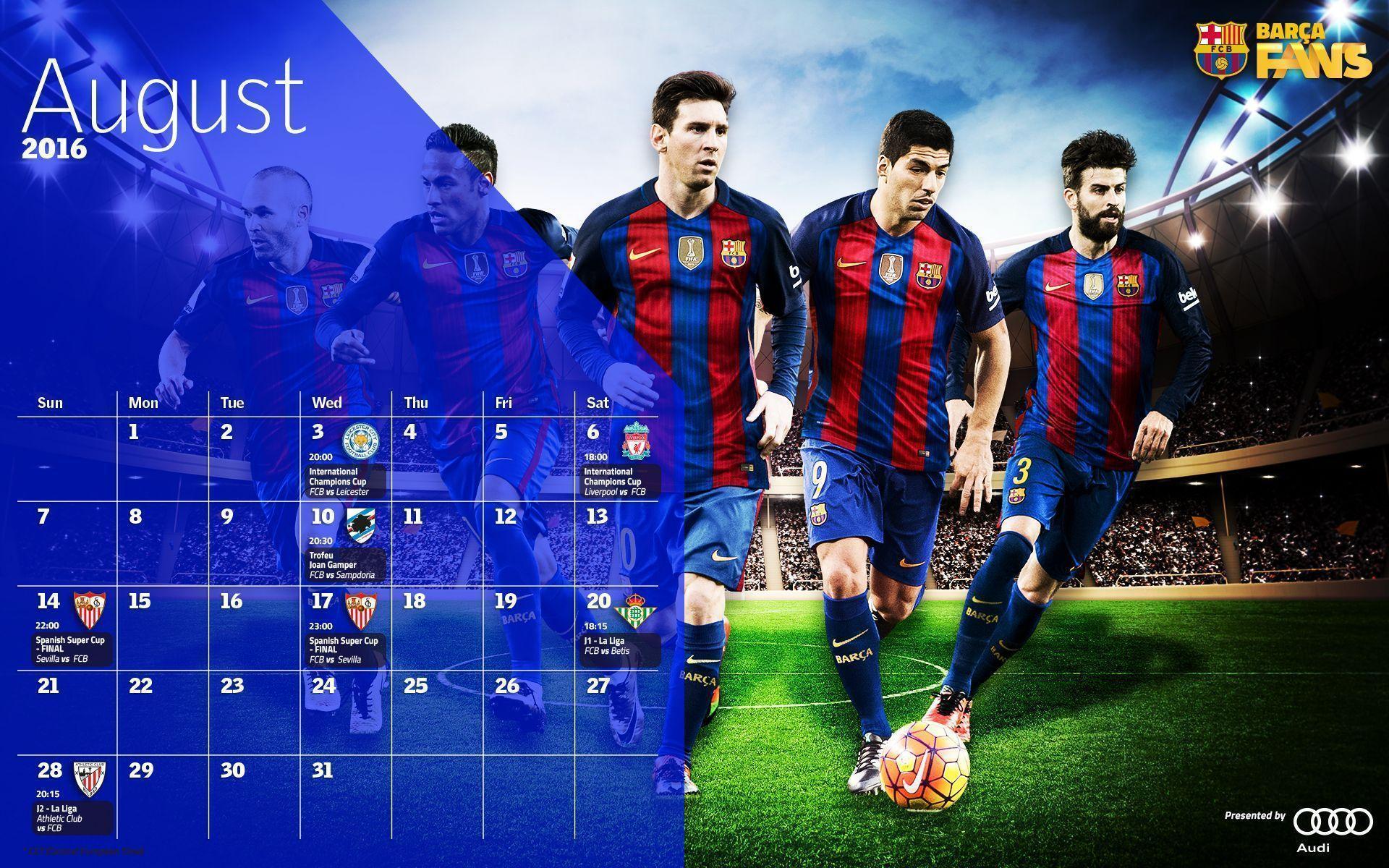 Barcelona Calendar Wallpaper : Fc barcelona wallpapers wallpaper cave