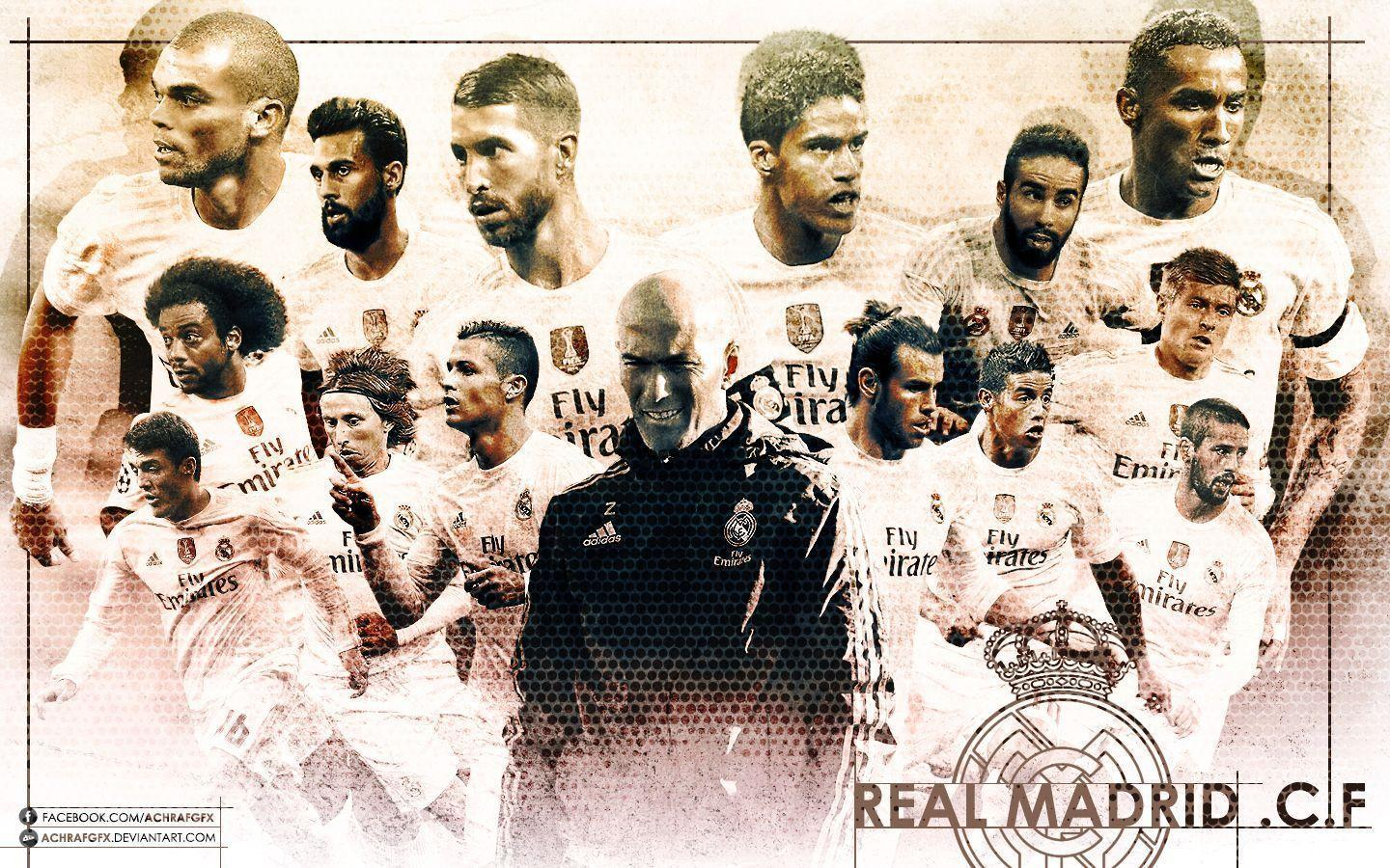 Wallpapers Real Madrid 2016 Deviantart - Wallpaper Cave